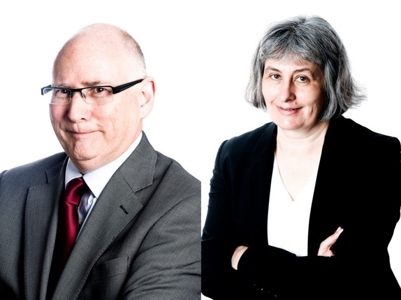Steven Corfield and Anne Thompson of FBC Manby Bowdler Solicitors