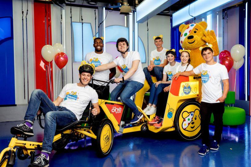 The 2019 Rickshaw Challenge team