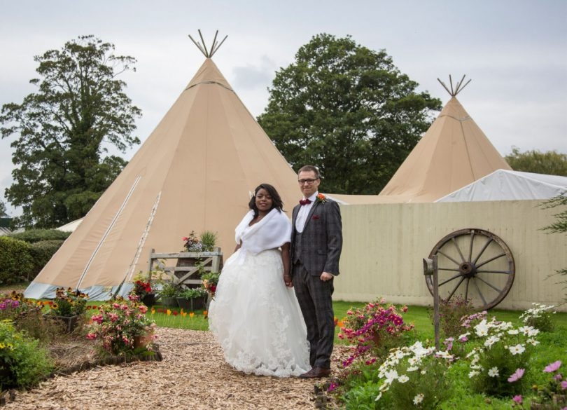 Célestine and Ben chose The Wroxeter as their wedding venue
