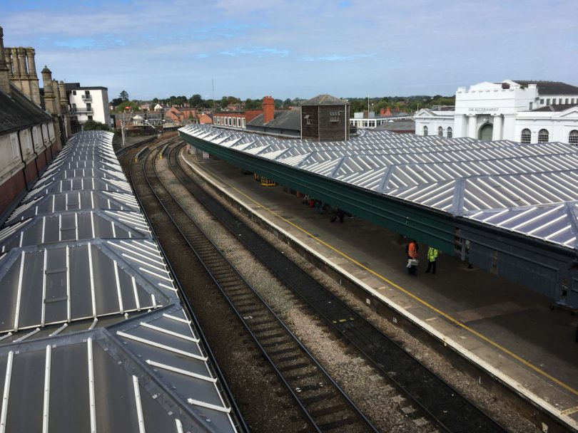 Canopies over platforms 4, 5, 6 and 7 have also been refurbished. Photo: Network Rail