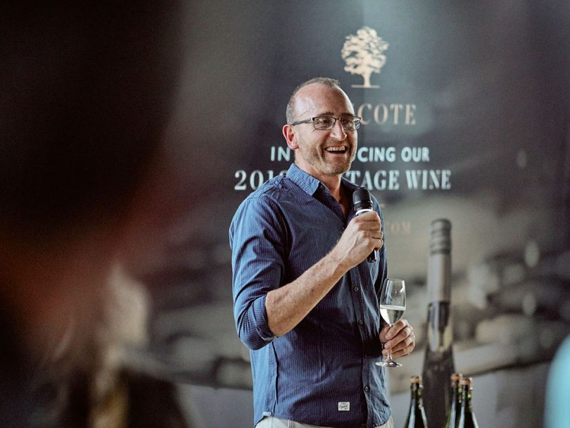 Hencote Estate Winemaker Gavin Patterson has over 30 years' experience in the industry
