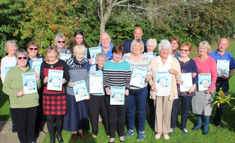Pictured are some of the volunteers at the Hope House Awards Presentation