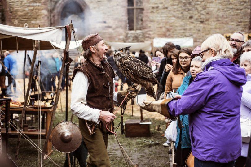 Ludlow Christmas Market - Owl