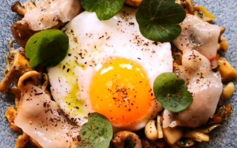 Pheasant at Neenton - Wild Mushrom Starter