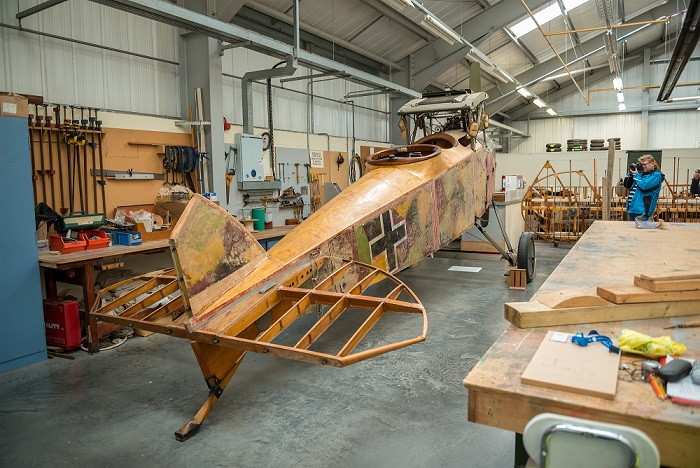 The Conservation Centre will open from 11-16 November between 10.15am and 1.00pm each day. Photo: ©Trustees of the Royal Air Force Museum