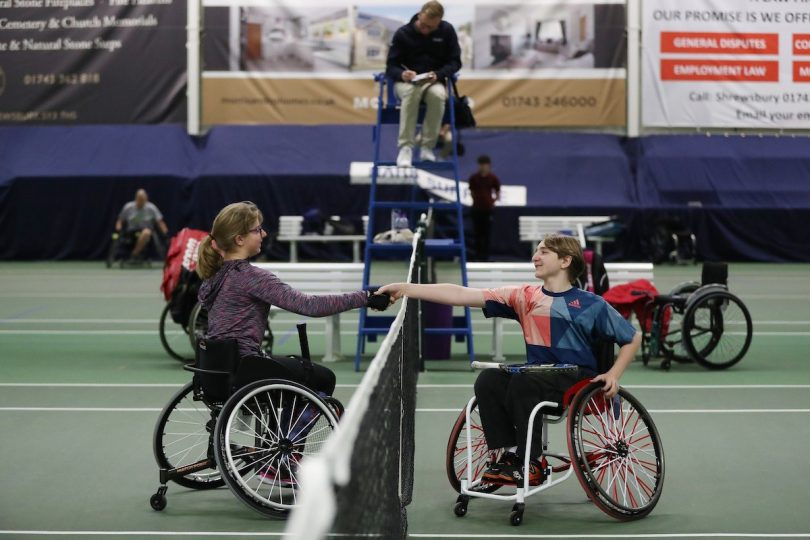 This will be the third year the LTA's National Wheelchair Tennis Championships have been held at The Shrewsbury Club