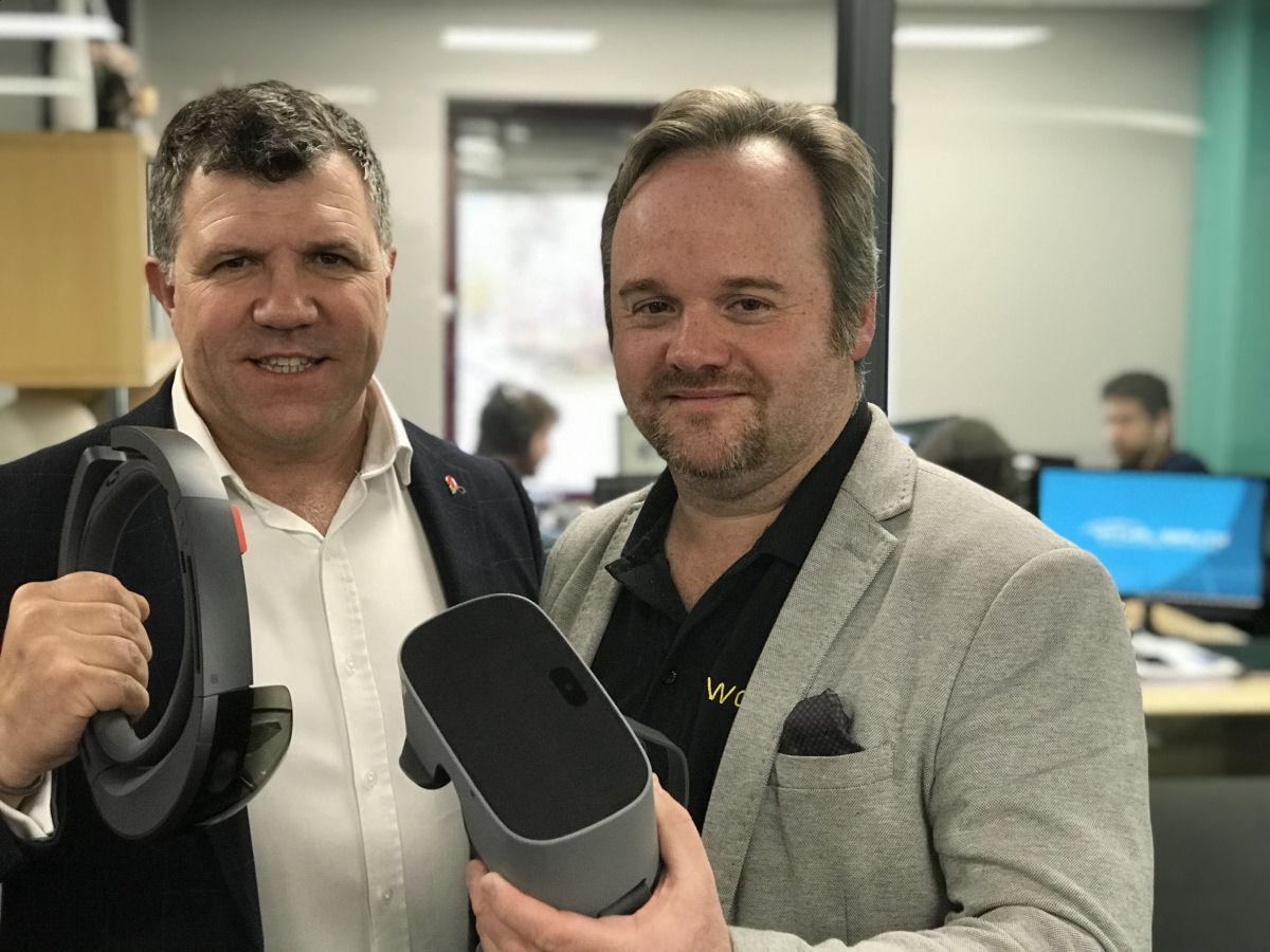 Virtual reality expert opens studio in Shropshire - Shropshire Live