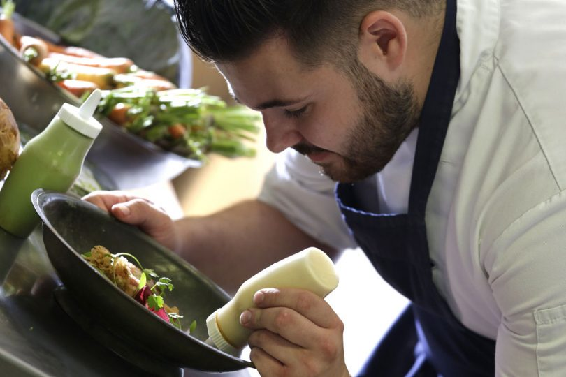 Chris Brown, Junior Sous Chef at the Best Western Valley Hotel in Ironbridge