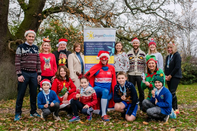 Over 750 people are taking part, including teams from four primary schools in the county and around 20 local businesses