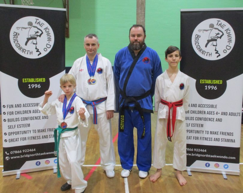 Pictured Albert and Marcin Makarewicz, instructor Gary Plant, and Jack Light