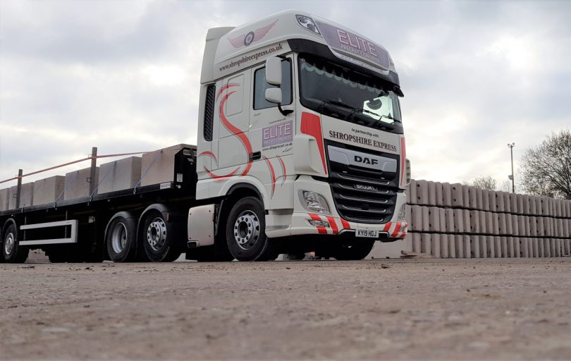 Elite Precast Concrete will work in partnership with Shropshire Express Deliveries to ensure its nationwide delivery operation runs like clockwork