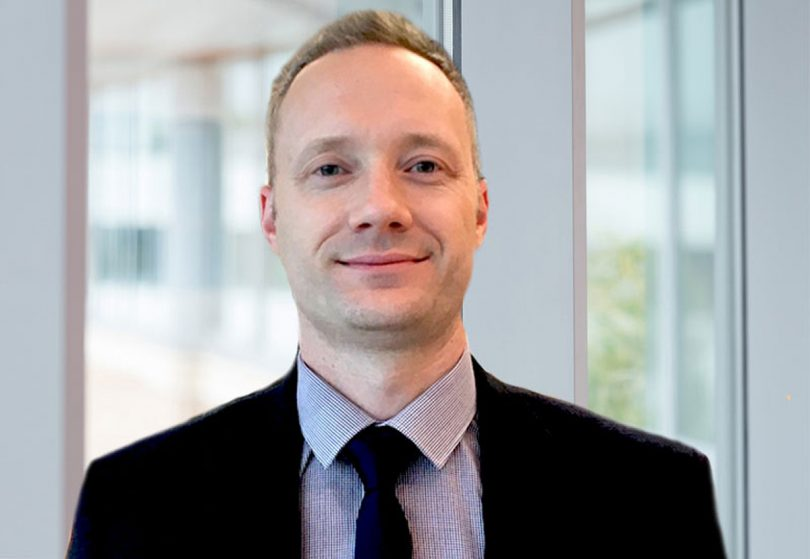 New Finance Director, Jonathan Glover