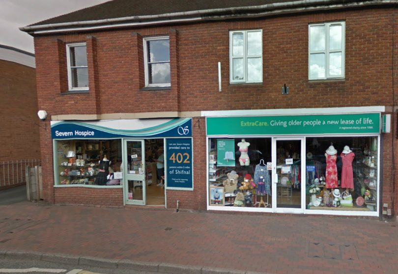 Severn Hospice and Extra care charity shops were targeted in Shifnal. Photo: Google StreetView