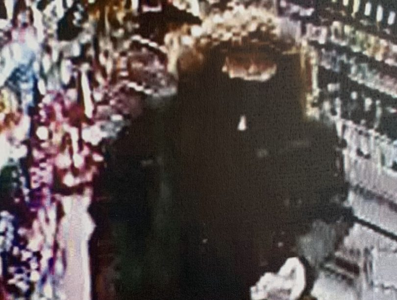 Police officers are are keen to speak to the person in the CCTV image as part of their investigation