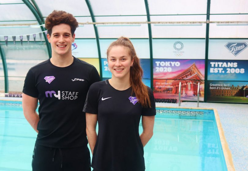 Adam Metcalf, who represented GB at the 2019 European Junior Championships and Pia Murray, who competed at the latest World Junior Championships