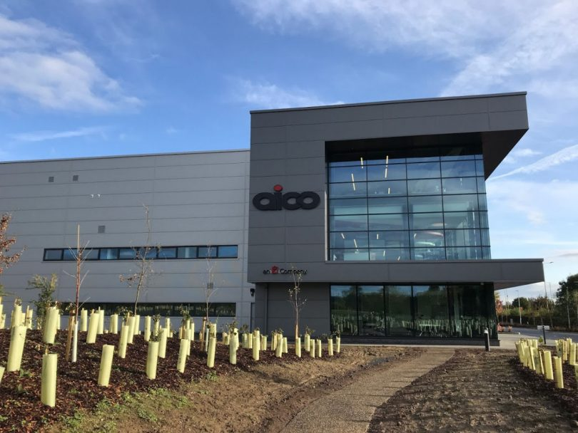 The new £7.7 million headquarters of Aico in Oswestry