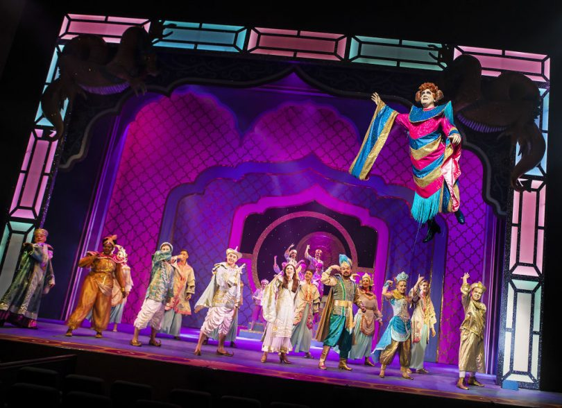 Aladdin has broken all previous Box Office records. Photo: Pamela Raith Photography