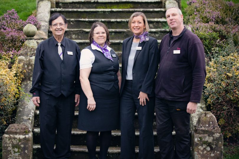 Between them Pedro Lagos, Clara Lagos, Lucy Capener and David Shakespeare have provided 125 years' service