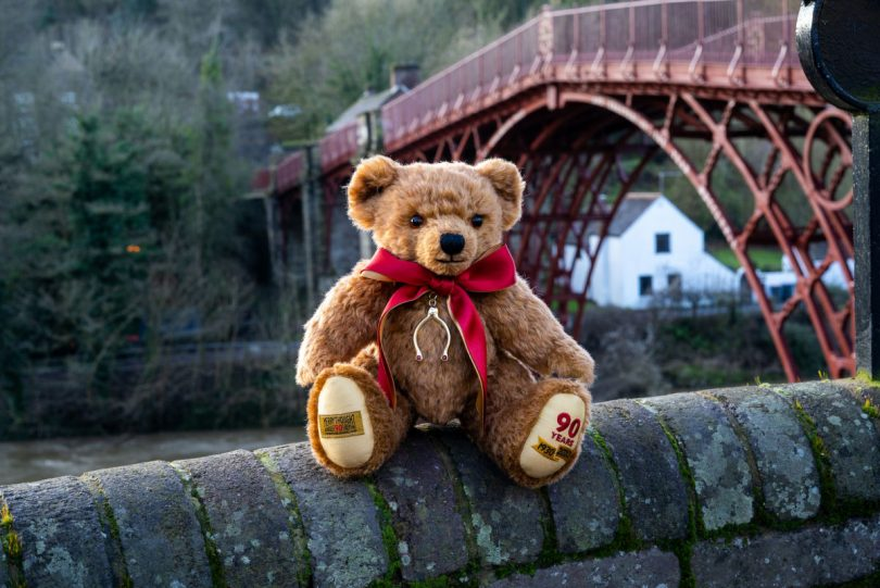 A special bear, of which only 300 are available, will celebrate Merrythought's 90th anniversary