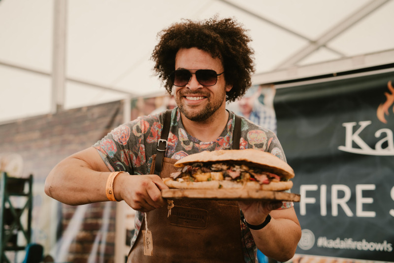 Adam Purnell, known as the Shropshire Lad will be demonstrating his unique cooking skills at Frestival in May. Photo: Jamie Ricketts