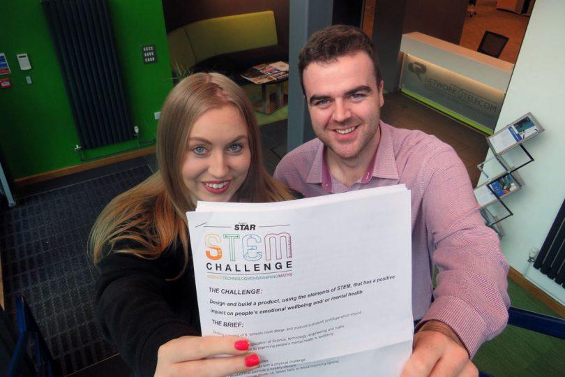 Becky Homersley and Jake Trubridge, STEM mentors