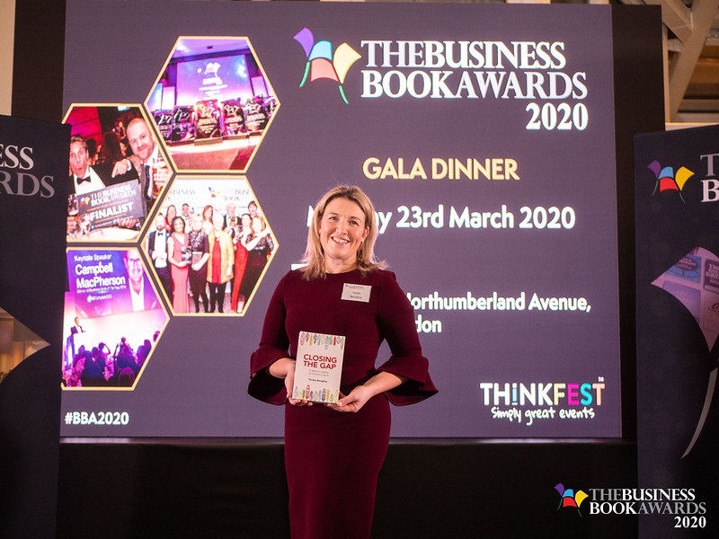 Teresa Boughey has been shortlisted for a Business Book Award