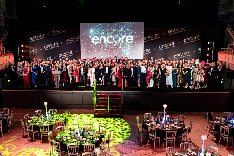 Encore Personnel has celebrated a record year of growth and expansion at its prestigious annual staff awards