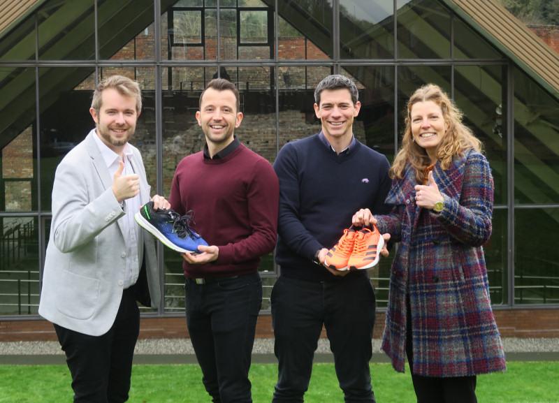 Adam Siviter, James Allport, Marcus Bean and Sylvia Figueiredo will take part in the Ironbridge Half Marathon
