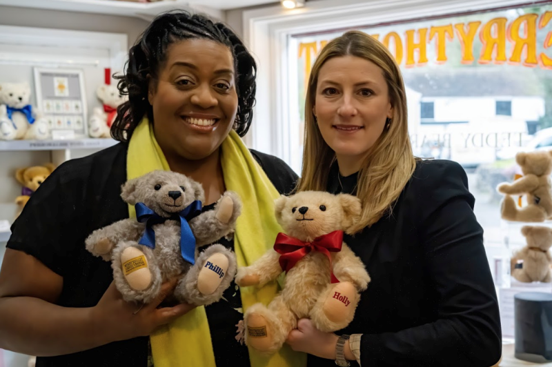 This Morning presenter Alison Hammond with managing director Sarah Holmes