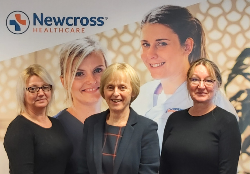 """Newcross Healthcare in Shrewsbury has achieved a """"GOOD"""" rating for its complex care in the home service from the Care Quality Commission"""