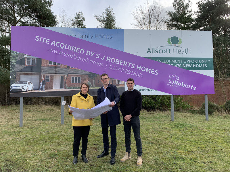 SJ Roberts Homes have received planning permission for their brand new 67 acre housing development at the Old Sugar Beet Factory, Allscott