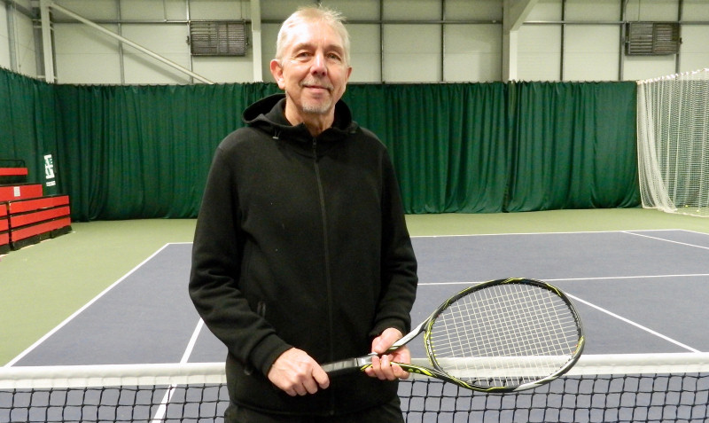 Rob Rue, a regular member of the Shropshire county side, is thrilled to have been selected to play tennis for Wales in May
