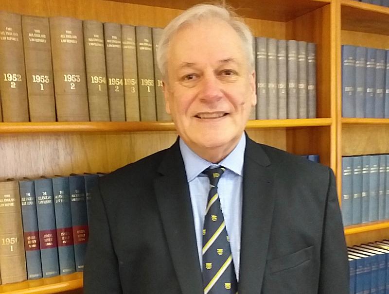 Shropshire County Cricket Club's new chairman John Hulme