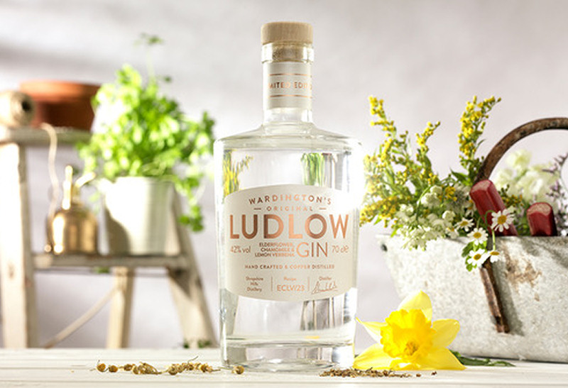 Wardington's Original Ludlow Gin. Photo: The Craft Gin Club