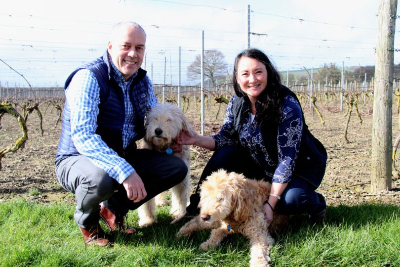 Janet and Russell Cooke, Owners of Kerry Vale Vineyard