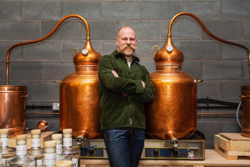 Shaun Ward, Founder of Wardington's Original Ludlow Gin