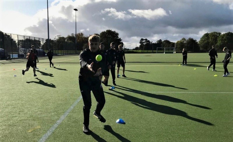 Students on Crossbar's Future Skills Programme enjoying a practical session at Lilleshall National Sports Centre