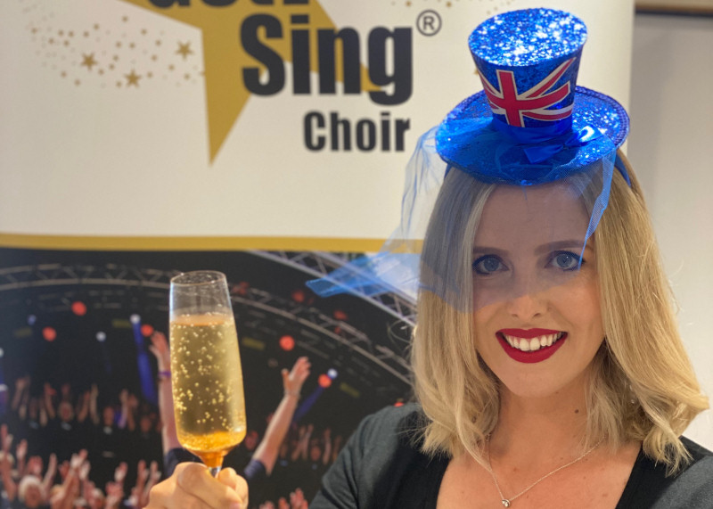 Choir founder, Beth Dunn will be leading the online sing along