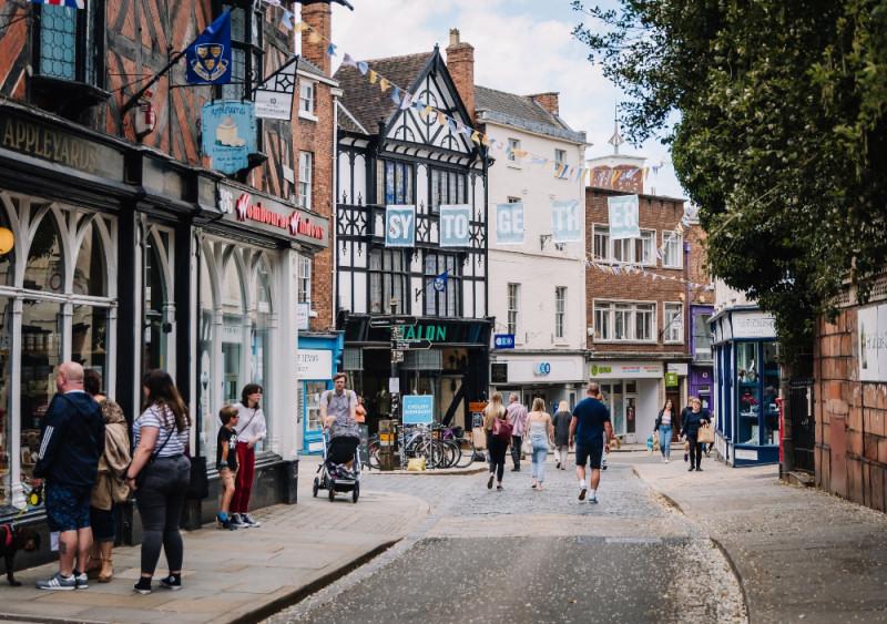 Shrewsbury's High Street