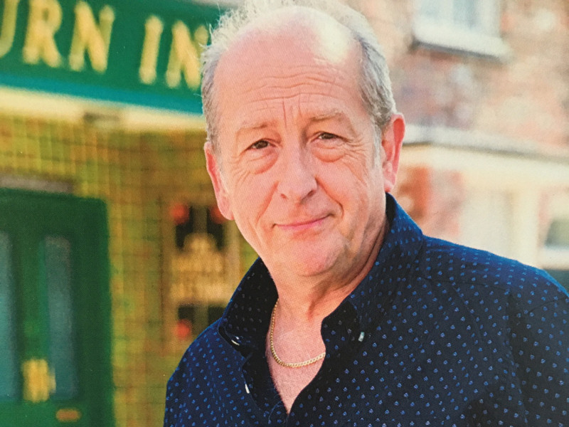 Ian Bartholomew, best known for his role as Geoff in Coronation Street introduced the 'Leave a Light On' concept