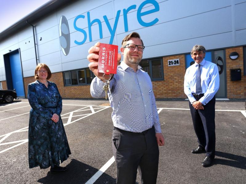 Liz Lowe, Morris Property, Lee Gough, Shyre Ltd and Toby Shaw, TSR