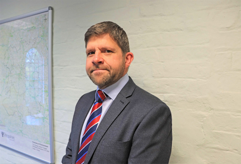 Shropshire Homes managing director, Richard Shackleton