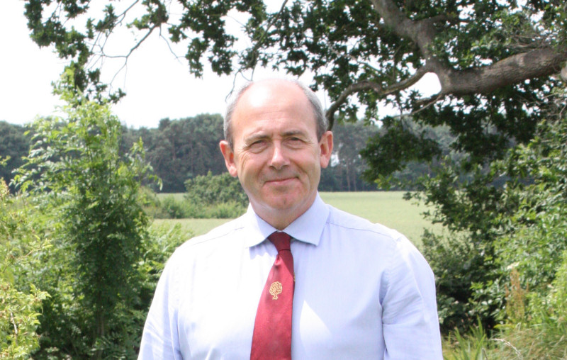 Newport and District Agricultural Society chairman of trustees Tony Asson is delighted that the society's work has been recognised