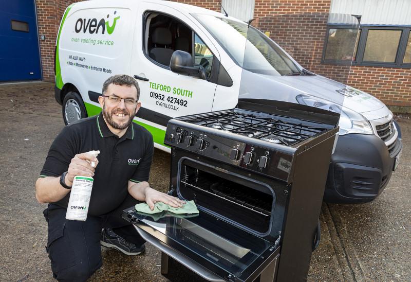 Andrew Bowcott, who runs Ovenu Telford South