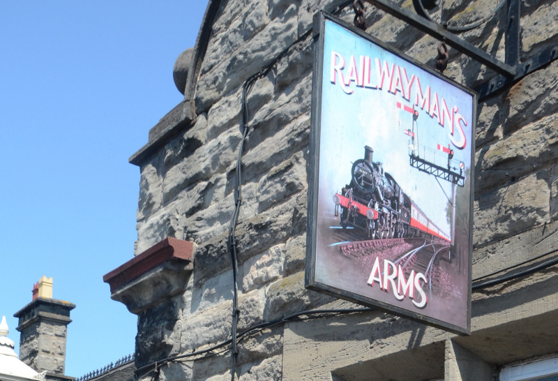 The Railwayman's Arms in Bridgnorth. Photo: Tony Bending