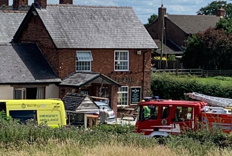 The incident happened at The Old Jack Inn, Calverhall. Photo: @EarloftheShire