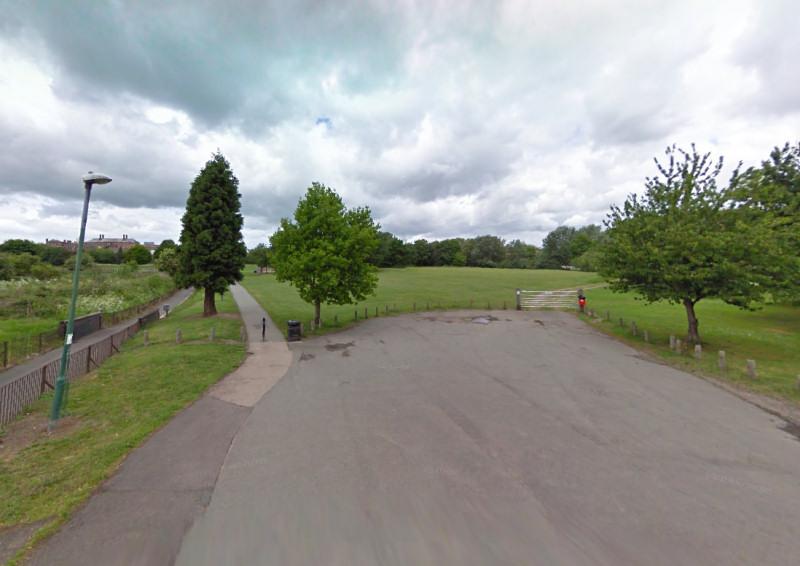 Castle Walk Recreation Ground in Shrewsbury. Photo: Google Street View