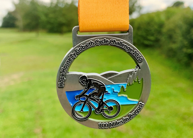 Entrants will be able to get their hands on a limited edition medal and foldable water bottle