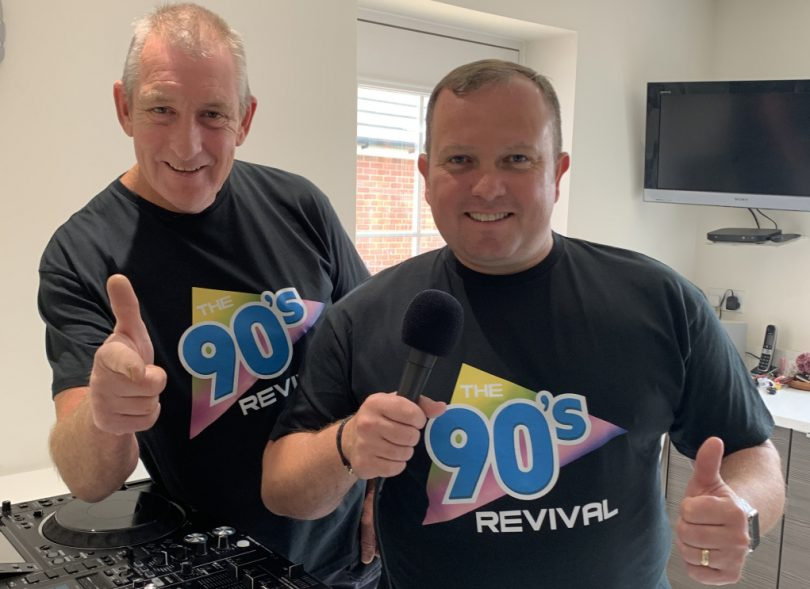 DJs Dave and Benno from The 90s Revival