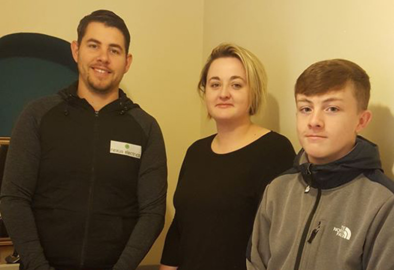 Electrical Manager at Nexus Electrics Ady Ethelston, Support Worker at The Ark Shrewsbury Eloise Arthur-Hammond, Electrical Engineer at Nexus Electrics Nathan Carpenter